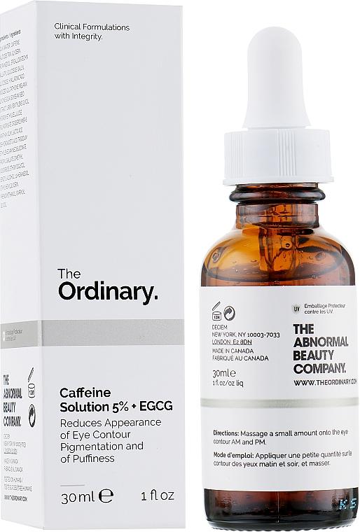 Eye Serum - The Ordinary Caffeine Solution 5% + EGCG