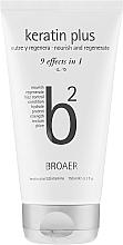 Fragrances, Perfumes, Cosmetics Hair Shampoo - Broaer B2 Keratin Plus Nourish And Regenerate Shampoo