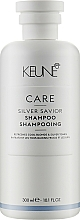"Fragrances, Perfumes, Cosmetics Shampoo ""Silver Shine"" - Keune Care Silver Savior Shampoo"