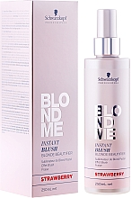 Fragrances, Perfumes, Cosmetics Tinted Spray - Schwarzkopf Professional BlondMe Instant Blush Spray