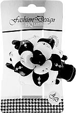 Fragrances, Perfumes, Cosmetics Hairpin 24351, black-white - Top Choice