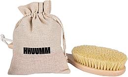 Fragrances, Perfumes, Cosmetics Elongated Massage Body Brush with Tampico Fiber, - Hhuumm № 5