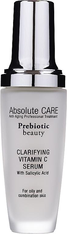 Clarifying Vitamin C Face Serum - Absolute Care Prebiotic Beauty Clarifying Vitamin C Serum