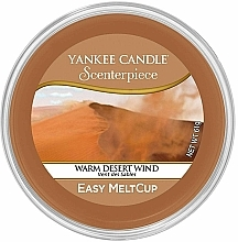 Fragrances, Perfumes, Cosmetics Scented Wax in Cup - Yankee Candle Warm Desert Wind Scenterpiece Melt Cup
