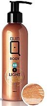 Fragrances, Perfumes, Cosmetics Natural Tan Balm Fluid - Silcare Quin Fluid BB 1 Body Shine Light