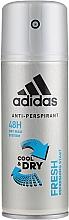 Fragrances, Perfumes, Cosmetics Deodorant - Adidas Anti-Perspirant Fresh Cool Dry 48h