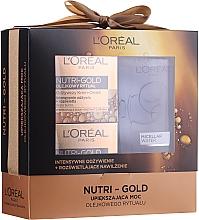 Fragrances, Perfumes, Cosmetics Set - Loreal Nutri Gold