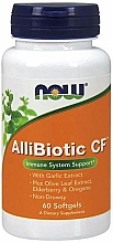 "Fragrances, Perfumes, Cosmetics Dietary Supplement ""Black Elderberry"" - Now Foods AlliBiotic CF"