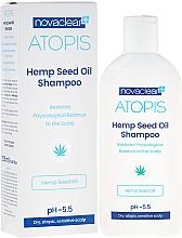 Fragrances, Perfumes, Cosmetics Organic Hemp Seed Oil Shampoo - Novaclear Atopis Hemp Seed Oil Shampoo