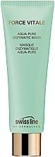 Fragrances, Perfumes, Cosmetics Moisturizing Face Mask - Swiss Line Force Vitale Aqua-Pure Enzymatic Mask