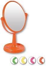 "Fragrances, Perfumes, Cosmetics Cosmetic Mirror, 85741 ""Lusterko Stojnce Owalne"", orange - Top Choice"
