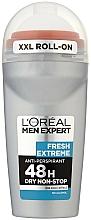 "Fragrances, Perfumes, Cosmetics Roll-On Antiperspirant ""Extreme Freshness"" for Men - L'Oreal Paris Men Expert Fresh Extreme Deo Anti-Perspirant Roll-On"