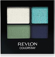 Fragrances, Perfumes, Cosmetics Long-Lasting Eyeshadow - Revlon Colorstay 16 Hour Eyeshadow Quad