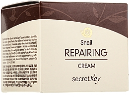 Fragrances, Perfumes, Cosmetics Face Cream - Secret Key Snail + EGF Repairing Cream