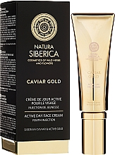 "Fragrances, Perfumes, Cosmetics Active Day Cream ""Youth Injection"" - Natura Siberica Caviar Gold"