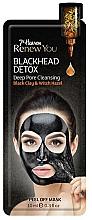 Fragrances, Perfumes, Cosmetics Peel-Off Face Mask - 7th Heaven Renew You Blackhead Detox Peel Off Mask