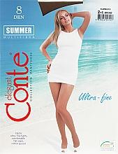 "Fragrances, Perfumes, Cosmetics Women's Tights ""Summer"" 8 Den, bronz - Conte"