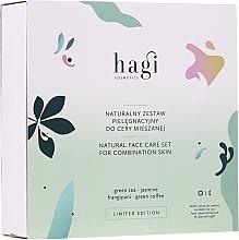 Fragrances, Perfumes, Cosmetics Set - Hagi Natural Face Care Set (cr/30ml + ser/30ml)