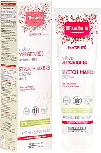 Fragrances, Perfumes, Cosmetics No-Scent Anti-Strech Marks Cream - Mustela Maternity Stretch Marks Cream 3in1