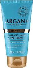 Fragrances, Perfumes, Cosmetics Hand and Nail Cream - Argan+ Anti Age Hand & Nail Cream