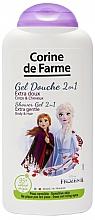 "Fragrances, Perfumes, Cosmetics Shampoo & Shower Gel 2 in 1 ""Anna and Elsa"" - Corine de Farme Frozen"