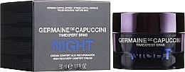 Fragrances, Perfumes, Cosmetics Restoring Night Super Cream - Germaine de Capuccini Timexpert SRNS Night High Recovery Comfort Cream