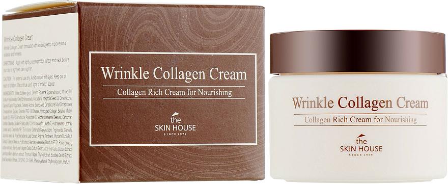 Nourishing Anti-Wrinkle Collagen Cream - The Skin House Wrinkle Collagen Cream