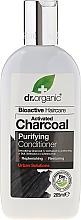 Fragrances, Perfumes, Cosmetics Activated Charcoal Hair Conditioner - Dr. Organic Bioactive Haircare Activated Charcoal Conditioner