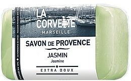 "Fragrances, Perfumes, Cosmetics Provence Soap ""Jasmine"" - La Corvette Provence Soap Jasmine"