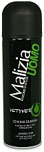 Fragrances, Perfumes, Cosmetics Mirato Malizia Uomo Vetiver - Shaving Foam
