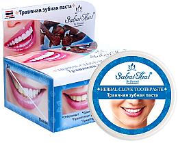 Fragrances, Perfumes, Cosmetics Cloves Toothpaste - Sabai Thai Herbal Clove Toothpaste
