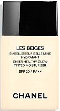 Fragrances, Perfumes, Cosmetics Healthy Glow Tinted Moisturizing Fluid - Chanel Les Beiges Sheer Healthy Glow SPF 30/PA++