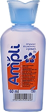 Fragrances, Perfumes, Cosmetics Acetone-Free Nail Polish Remover, light blue bottle - Ampli