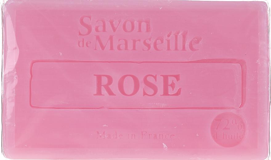 "Natural Soap ""Rose"" - Le Chatelard 1802 Soap Rose"