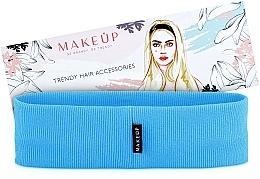 "Fragrances, Perfumes, Cosmetics Headband, blue ""Be Beauty"" - MakeUp"
