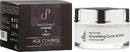 Fragrances, Perfumes, Cosmetics Firming Face Cream - Sayaz Cosmetics Age Control Smoothing Caviar & Snail Face Cream 24H