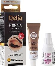 Fragrances, Perfumes, Cosmetics Brow Cream-Dye - Delia Cosmetics Cream Eyebrow Dye