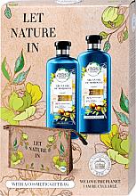 Fragrances, Perfumes, Cosmetics Set - Herbal Essences Argan Oil of Morocco (shm/400ml+cond/360ml+bag)