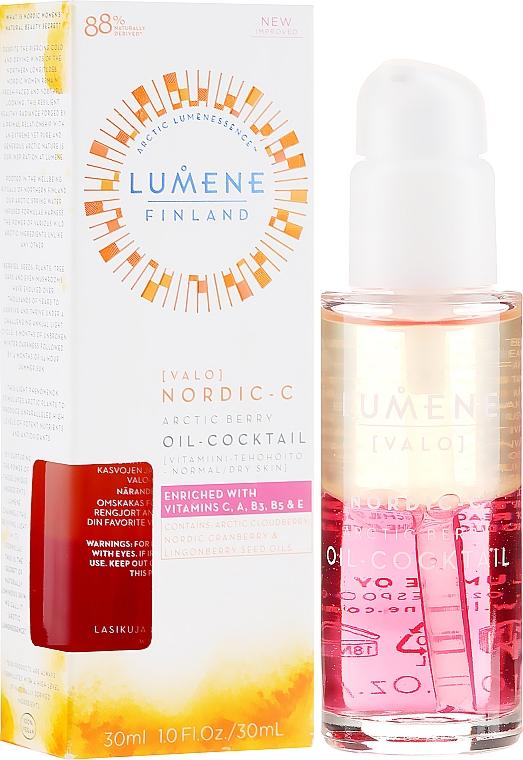 Skin Glow MoisturizingCocktail - Lumene Nordic-C Valo Arctic Berry Oil-Cocktail