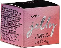 Fragrances, Perfumes, Cosmetics Lip & Cheks Jelly Tint - Avon Jelly Sheer Lip & Cheek Tint
