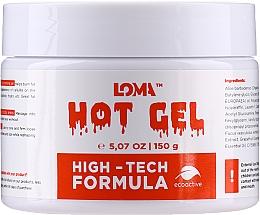 Fragrances, Perfumes, Cosmetics Warming Body Gel-Cream - Loma Sports Hot Gel Cream