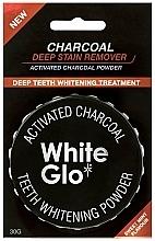 Fragrances, Perfumes, Cosmetics Whitening Tooth Powder - White Glo Activated Charcoal Teeth Polishing Powder