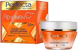 "Fragrances, Perfumes, Cosmetics Deep Moisturizing Face Cream ""Energy and Detox"" - Perfecta Fenomen C Cream 30+ SPF 6"