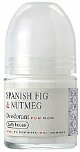 Fragrances, Perfumes, Cosmetics Bath House Spanish Fig and Nutmeg - Roll-On Deodorant