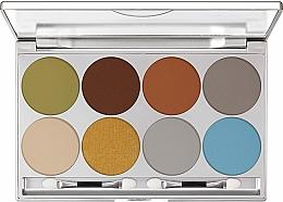Fragrances, Perfumes, Cosmetics Eyeshadow Palette - Kryolan Dermacolor Light Eye Shadow Palette 8 Colors