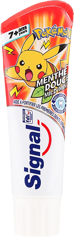 Kids Toothpaste, red - Signal Junior Pokemon Toothpaste