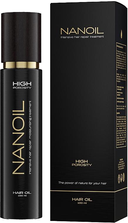 High Porosity Hair Oil - Nanoil Hair Oil High Porosity