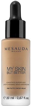 Bare Skin Effect Foundation Fluid - Mesauda Milano My Skin But Better