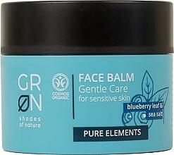 Fragrances, Perfumes, Cosmetics Face Balm - GRN Pure Elements Blueberry & Sea Salt Face Balm