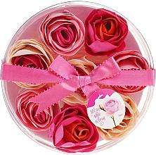 "Fragrances, Perfumes, Cosmetics Bath Confetti ""Rose"", 8 pcs - Spa Moments Bath Confetti Rose"